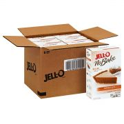 Jello Dessert No Bake Pumpkin Style Pie, 9.2 Ounce -- 6 per case.