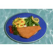 Kaptains Ketch Breaded Flounder, 5 to 6 Ounce -- 15 per case.