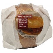 Advance Pierre Hot N Ready Meatloaf Sandwich with Ketchup, 7 Ounce -- 12 per case.