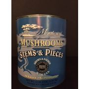 Monterey Mushroom Pieces and Stems - no. 10 can, 6 cans per case