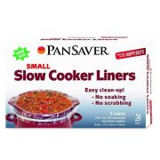 Pansaver Small Slow Cooker Liner, 5 count per pack -- 18 per case