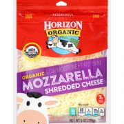 Horizon Organic Mozzarella Shredded Cheese, 6 Ounce -- 8 per case.