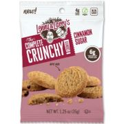 Lenny and Larrys The Complete Crunchy Cookie - Cinnamon Sugar, 1.25 Ounce -- 72 per case.