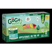 GoGo Squeez Apple / Gimme Five Sauce - Variety Pack, 12 count per pack -- 6 per case.