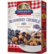 Calhon Bend Mill Blueberry Crumble Mix, 8 Ounce -- 6 per case