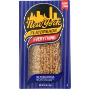 New York Everything Flatbread, 5 Ounce -- 12 per case