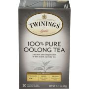 Twinings China Oolong Black Tea, 20 count per pack -- 6 per case