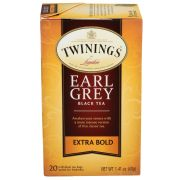 Twinings Extra Bold Earl Grey Black Tea, 1.41 Ounce -- 6 per case