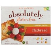 Absolutely Gluten Free Toasted Onion Flatbread, 5.29 Ounce -- 12 per case