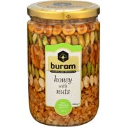 Buram Honey with Nuts, 26.47 Ounce -- 12 per case