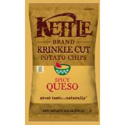 Kettle Krinkle Cut Spicy Queso Potato Chips, 8.5 Ounce -- 12 per case