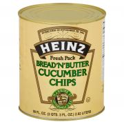 Bread and Butter Cucumber Chips,10 Can -- 6 per case