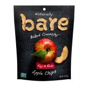 Bare Natural Fuji and Reds Apple Chips, 1.4 Ounce -- 48 per case.