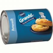 Pillsbury Grands Unbaked Homestyle Buttermilk Biscuits, 10.2 Ounce -- 12 per case.