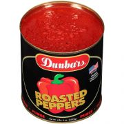 Moody Dunbar Roasted Red Bell Pepper Puree, Number 10 Can -- 6 per case.