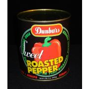 Dunbar Roasted Red Pepper Strips - no. 10 can, 6 cans per case
