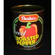 Dunbars Roasted Red Pepper Pieces - no. 10 can, 6 cans per case