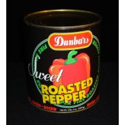 Dunbars Diced Roasted Red Peppers - no. 10 can, 6 cans per case