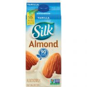 Silk All Natural Vanilla Pure Almond Milk, 64 Ounce -- 6 per case.