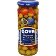 Goya Capers with Pimentos Olives, 10 Ounce -- 24 per case.
