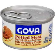 Goya Potted Meat, 3 Ounce -- 48 per case.