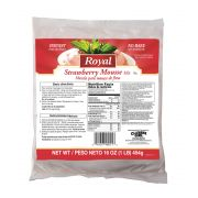 Royal Strawberry Mousse Mix, 16 Ounce -- 6 per case.