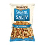 Snyders of Hanover Sweet and Salty Salted Caramel Pretzel Pieces, 7 Ounce -- 6 per case.