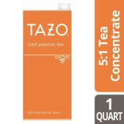 Tazo Iced Tea Concentrate 5:1 Passion, 32 ounce -- 6 per case
