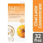 Tazo Tea Concentrate 1:1 Pumpkin Spice Latte, 32 ounce -- 6 per case