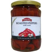 Marco Polo Roasted Peppers with Garlic, 19.3 Ounce -- 12 per case