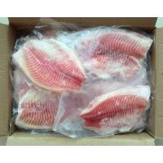 Happy Fish Skinless and Boneless 3 to 5 Ounce Tilapia Fillet, 10 Pound -- 1 each.