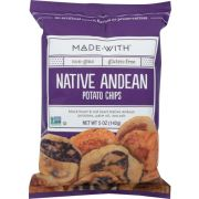 Made With Native Andean Potato Chip, 5 Ounce -- 12 per case