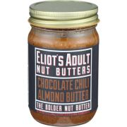 Eliots Adult Nut Butters Chocolate Chili Almond Butter, 12 Ounce -- 6 per case