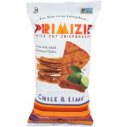 Primizie Snacks Chimayo Chile and Lime Crispbreads, 6.5 Ounce -- 12 per case
