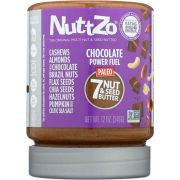 Nuttzo Power Fuel Chocolate Multi Nut and Seed Butter, 12 Ounce -- 6 per case