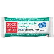 Good Food Made Simple Chicken Apple Sausage Egg White Burrito, 5 Ounce -- 12 per case.