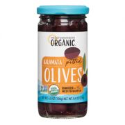 Mediterranean Organic Pitted Kalamata Olives, 8.1 Ounce -- 12 per case.
