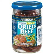 Pinnacle Foods Armour Star Sliced Dried Beef, 2.25 Ounce -- 12 per case.