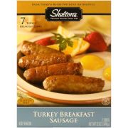 Sheltons Poultry Turkey Breakfast Sausage, 12 Ounce -- 6 per case.