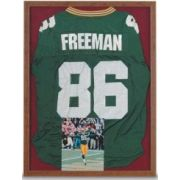 Frame Finish - Walnut Slim Style Memorabilia Case with fabric covered back panel. Size: 36 inch X 40 inch -- 1 each.