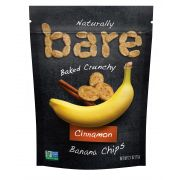 Bare Crunchy Cinnamon Banana Chips, 2.7 Ounce -- 12 per case