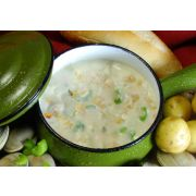Taste Traditions New England Clam Chowder - 8 lb. package, 2 per case