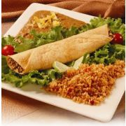 Taste Traditions Enchilada - Chicken Spiced Shell, 6 Ounce -- 24 per case.