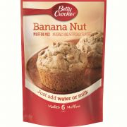 Betty Crocker Banana Nut Muffin Mix, 6.4 Ounce -- 9 per case.