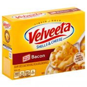 Velveeta Shells and Cheese with Bacon Dinner, 10.3 Ounce -- 12 per case.