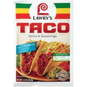 Lawrys Taco Mix, 1 Ounce -- 12 per case.