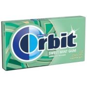 Orbit Equity Year Sweet Mint Sugar Free Gum - Floor Display -- 180 per case