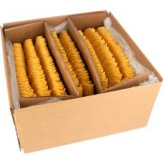 Mexican Original Ground Fried Yellow Corn Taco Shell, 5.25 inch -- 200 per case.