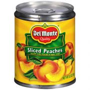 Del Monte Yellow Cling Sliced Peaches in Heavy Syrup, 8.5 Ounce -- 12 per case.