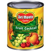 Delmonte Fruit Cocktail in Heavy Syrup, 30 Ounce Can -- 6 per case.